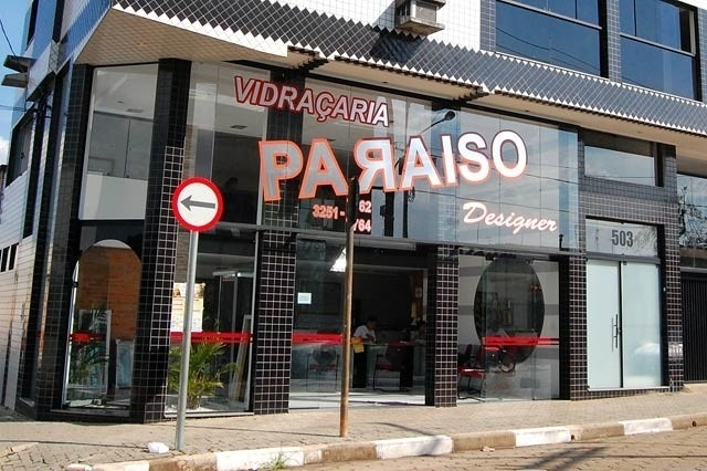 Loja Vidraçaria Paraiso Designer