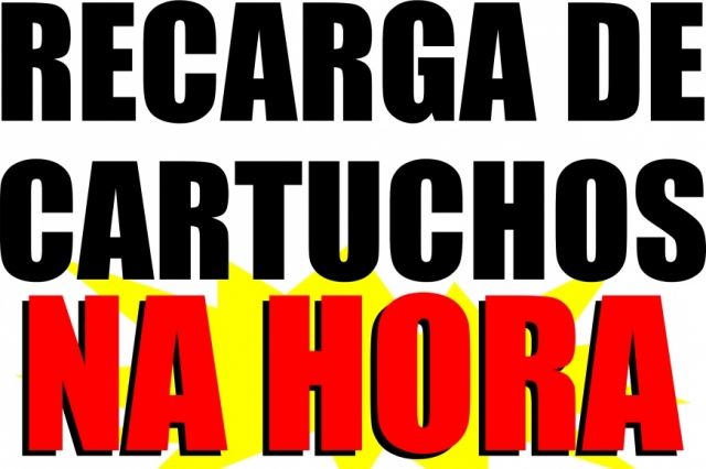 RECARGA DE CARTUCHOS
