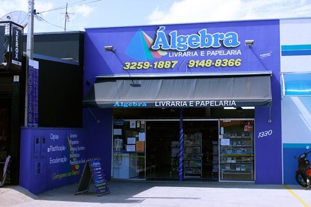 A Álgebra Livraria e Papelariaé completa e trabalha com uma grande variedade de materiais escolares, artigos para escritório, acessórios…