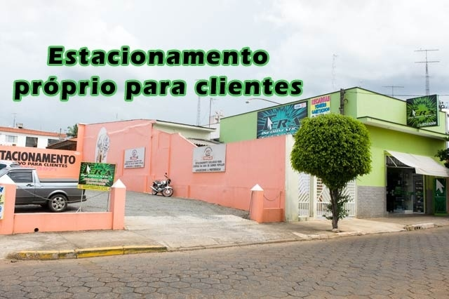 Estacionamento prprio para clientes