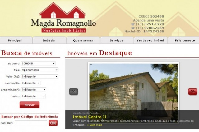 Magda Romagnollo Negcios Imobilirios