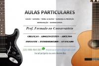 Aulas de Violão & Guitarra - Paul Chavez