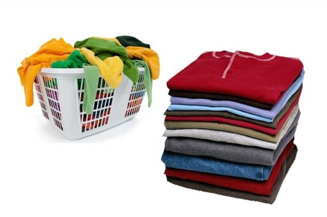 Limpeza de roupas
